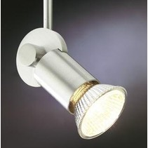 Ceiling light black, white or grey for spot rod 70mm GU10