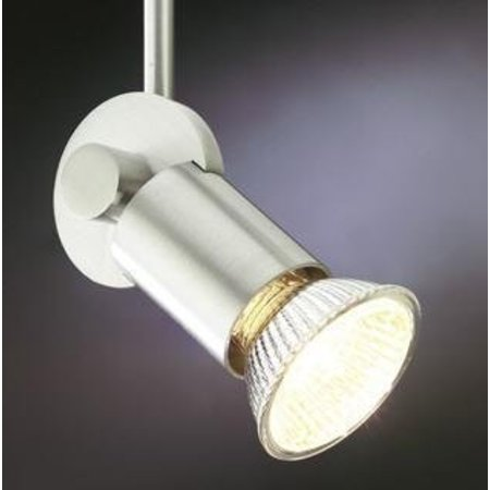 Ceiling light black, white or grey for spot rod 70mm GU10