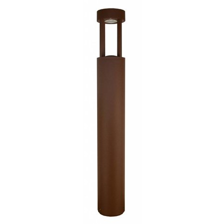 Bollard LED silver, rust or graphite 650mm high 5W