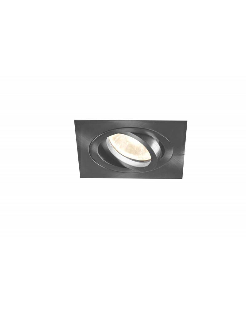 Downlight GU10 without lamp square white or grey