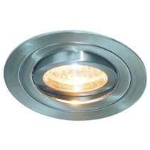 Downlight GU10 without lamp round white or grey