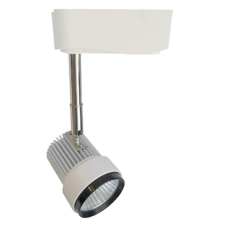 Track lighting fixture LED 7W white modern office 60mm Ø