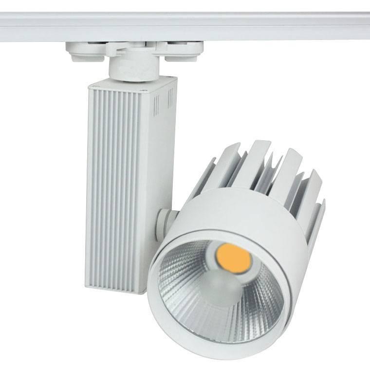 Track lighting fixture LED 30W white modern showroom