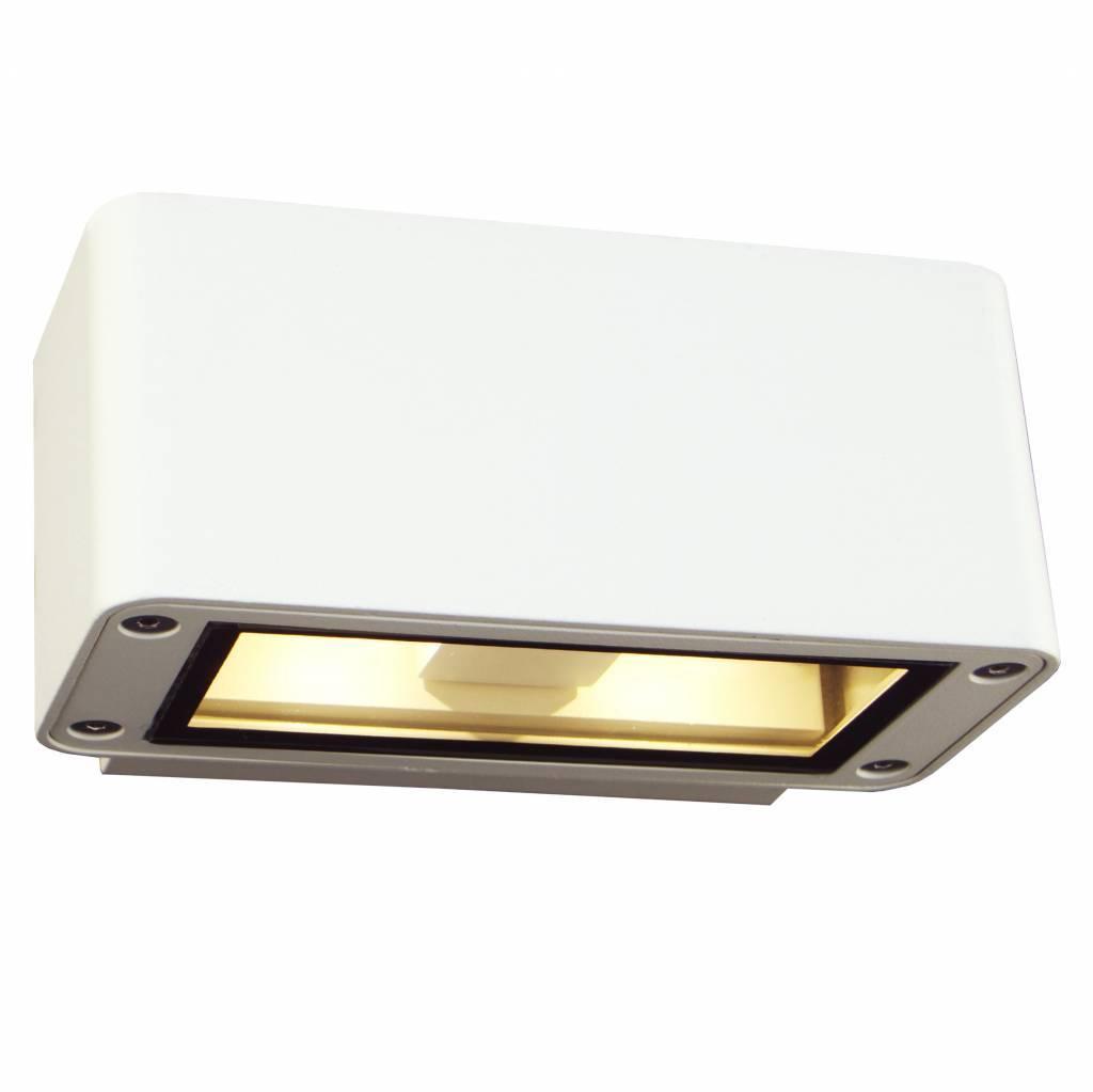 wandlamp buiten led up down 150mm breed 4x3w myplanetled. Black Bedroom Furniture Sets. Home Design Ideas