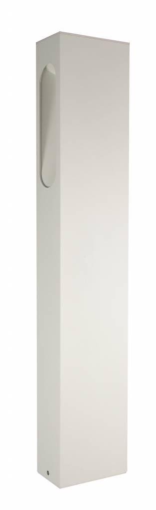 lampadaire exterieur led blanc argent rouille ou graphite 650mm 5w myplanetled. Black Bedroom Furniture Sets. Home Design Ideas