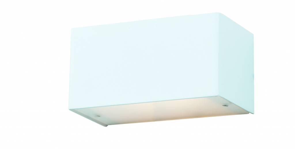 applique murale led blanche aluminium ou acier bross g9 2 6w 140mm myplanetled. Black Bedroom Furniture Sets. Home Design Ideas