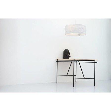 Hanglamp-karton Ø 61cm wit of beige design rond E27