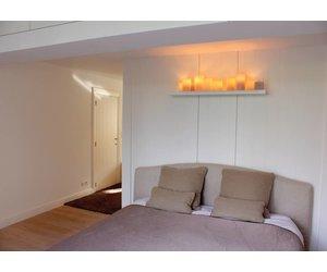 Design Wandlamp Slaapkamer : Wandlamp slaapkamer rustiek led kaarsen cm breed myplanetled