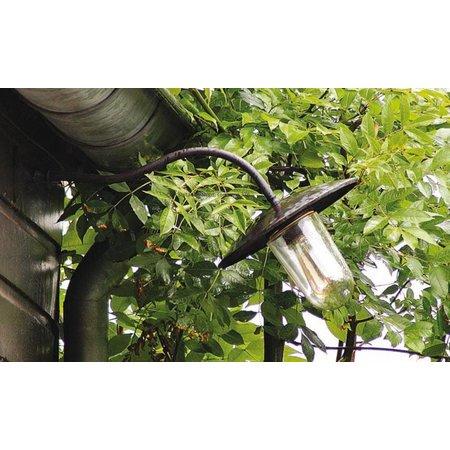 Outdoor wall light rural bronze-nickel-chrome 60cm 45°