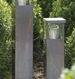 Lampadaire exterieur design bronze-chrome-nickel E27 40cm