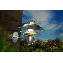 Wandlamp buiten industrieel metaal IP54 E27 240mm hoog