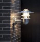 Outdoor wall light fixture 3 rings IP54 E27 240mm high