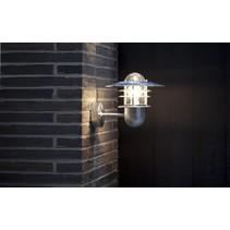 Wandlamp buiten metaal 3 ringen IP54 E27 240mm H 360°