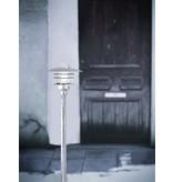 Lampadaire exterieur pas cher métal verre IP54 830mm H