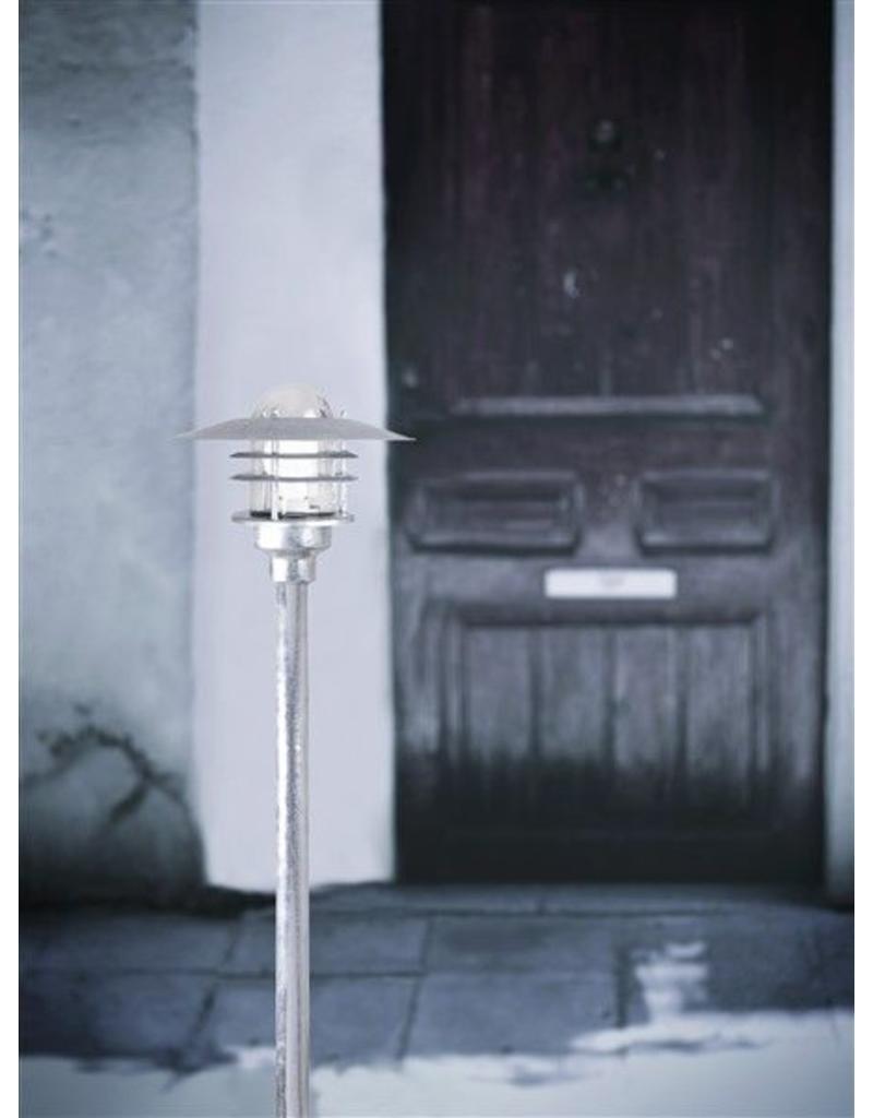 Bollard lighting metal glass IP54 830mm high