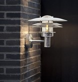 Outdoor wall light metal IP54 E27 260mm high