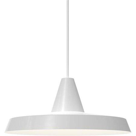 Pendant light black or white round E27 350mm Ø