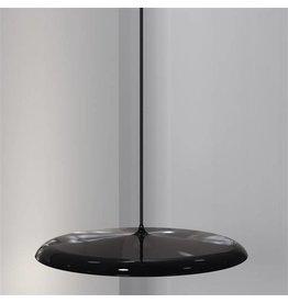 Pendant light round LED grey or copper 27W 400mm Ø