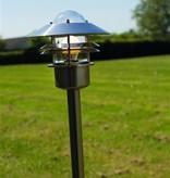 Tuinpaal koper, gegalvaniseerd of RVS IP54 920mm hoog