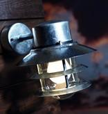 Outdoor wall light copper-black-galvanized-inox E27 230mm