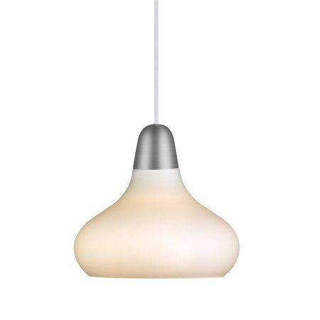 Luminaire suspendu design cuivre, acier verre poire E27 210