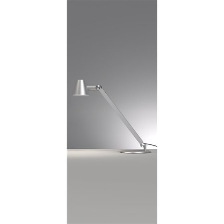 Desk lamp black or grey E27 flexible 750mm high