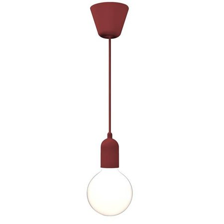 Pendant light black-white-copper-blue-red-purple-green 2500