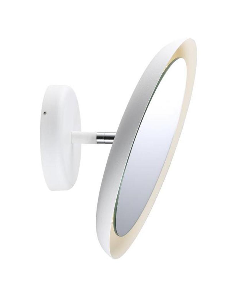 Bathroom Mirror Lamp wall light bathroom mirror led white 8w ip44 300mm Ø - myplanetled