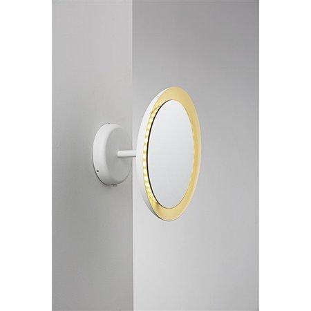Applique murale salle de bain mirroir LED 8W IP44 300mm Ø