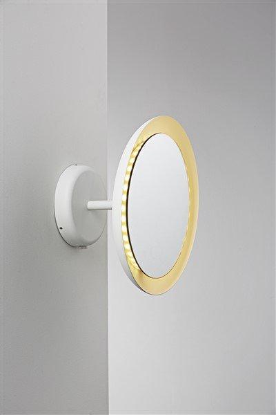 Wall light bathroom mirror LED white 8W IP44 300mm Ø