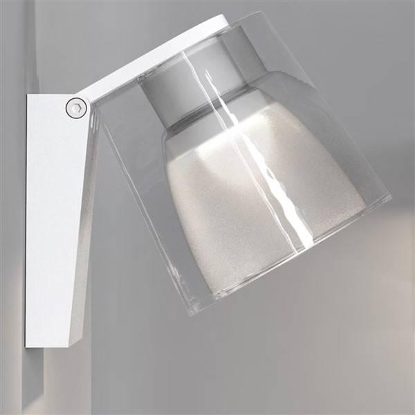 applique murale salle de bain led blanche ou chrome 3w. Black Bedroom Furniture Sets. Home Design Ideas