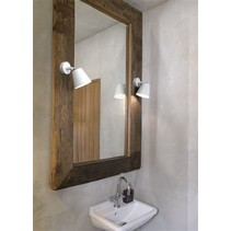 Wall light bathroom white or grey orientable 80° GU10 125