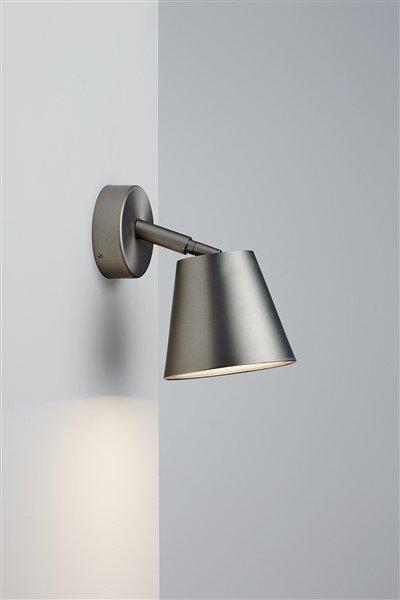 Wandlamp badkamer wit of grijs draaibaar 80° GU10 125mm Ø | Myplanetled