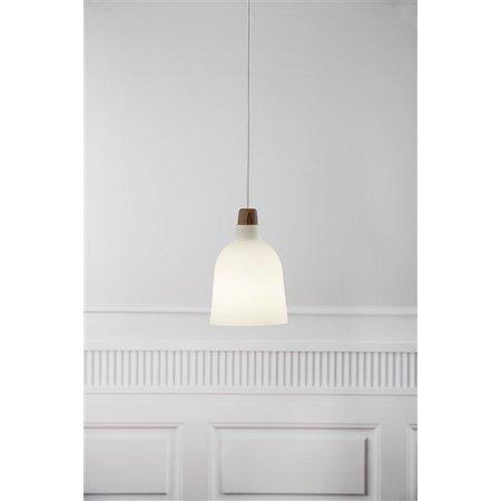 Hanglamp glas of metaal E14 conisch 140mm Ø
