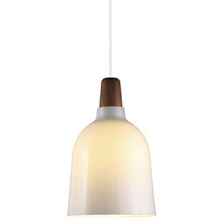 Pendant light glass or metal conic E27 200mm Ø