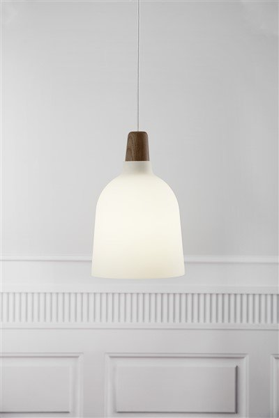 Pendant light glass or metal conic E27 200mm Ø