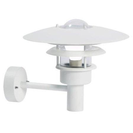 Wandlamp buiten industrieel zwart-wit-grijs E27 IP44 320