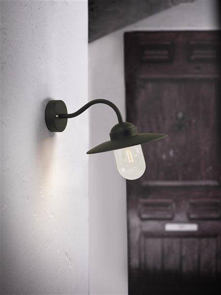 applique murale exterieure noire cuivre rouille grise 280. Black Bedroom Furniture Sets. Home Design Ideas