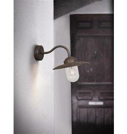 Luminaire suspendu vintage chaine rouille e27 1600mm haut for Applique murale exterieure grise