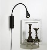 Applique murale LED noire, blanche, verte, chrome 3W 220