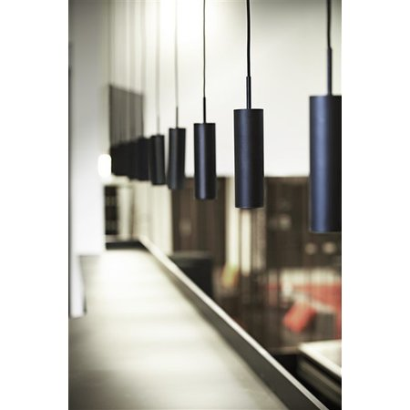 hanglamp design zwart of wit richtbaar 270mm hoog myplanetled. Black Bedroom Furniture Sets. Home Design Ideas