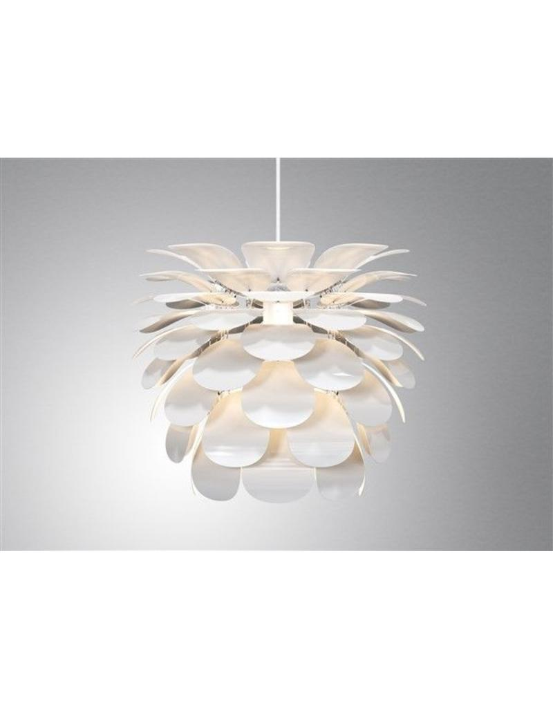 pendant light flower white e27 500mm diameter myplanetled