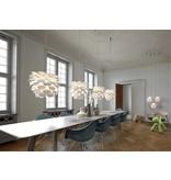 Hanglamp bloem wit E27 500mm diameter