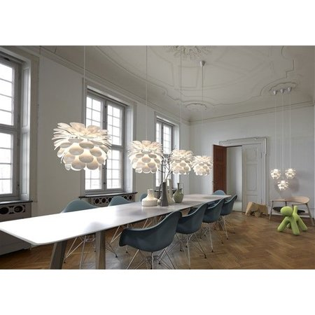 Pendant light flower white E27 500mm diameter