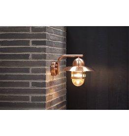Wandlamp landelijk koper of gegalvaniseerd E27 280mm Ø