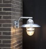 Outdoor wall light copper or galvanized E27 280mm Ø