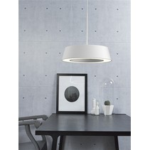 Pendant light LED white or grey round 14,5W 360mm Ø