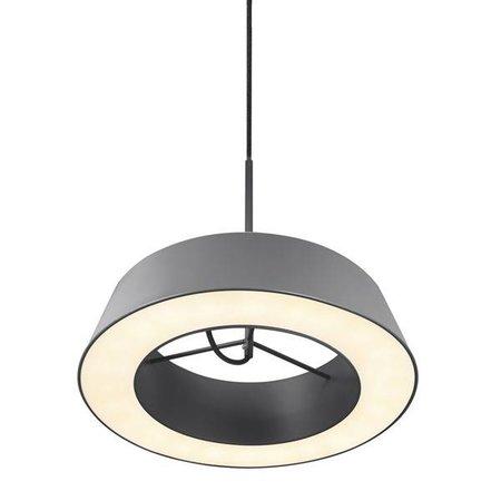 Pendant light LED white or grey round 14,5W 360mm Ø