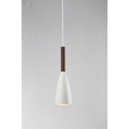 Pendant light design black, white or grey conic E27 355mm