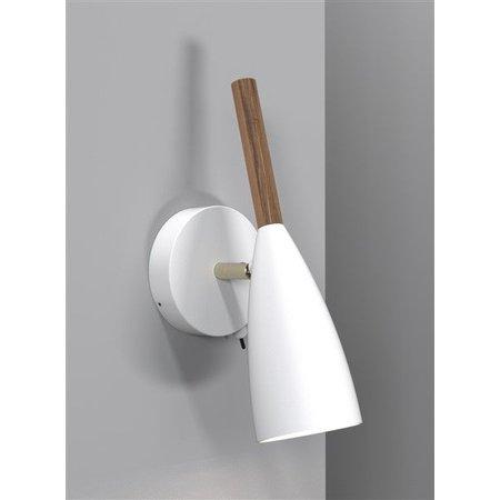 Wall light design white, black or grey GU10 260mm high
